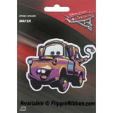 Disney Cars' Mater Applique - Flippin Ribbon
