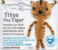 Titus the Tiger String Doll Gang