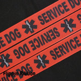 service dog ribbon - Flippin Ribbon