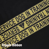 service dog in training ribbon - Flippin Ribbon