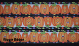 Halloween pumpkin grosgrain ribbon - Flippin Ribbon