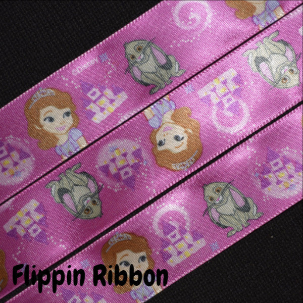 Sofia the First satin ribbon