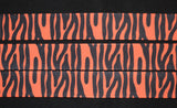 Tiger Print Grosgrain Ribbon - Flippin Ribbon