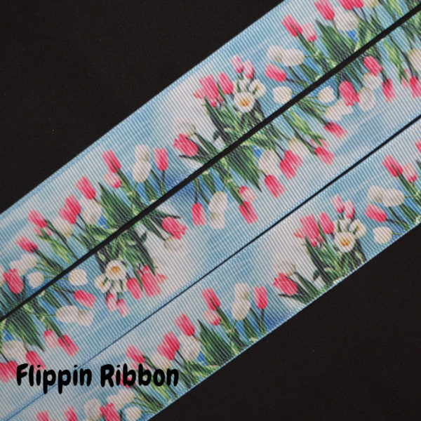 tulip ribbon grosgrain