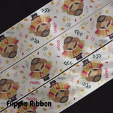 satin turkey ribbon - Flippin Ribbon