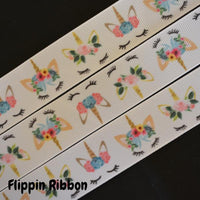 unicorn ribbon - Flippin Ribbon