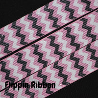 glitter chevron ribbon