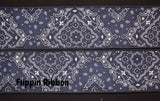 navy bandanna ribbon