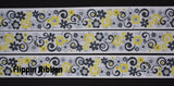 yellow flower grosgrain ribbon - Fliippin Ribbon