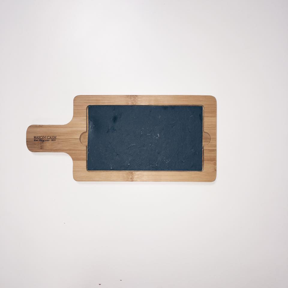 Bamboo Slate Chopping/Serving Board Small