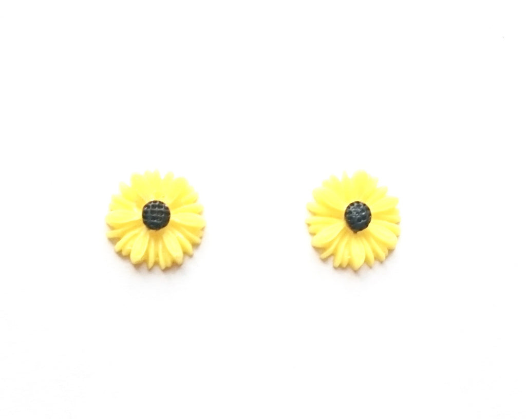 This Material Culture | Sunflower Earrings