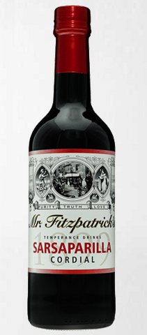 Mr Fitz Sarsparilla Cordial