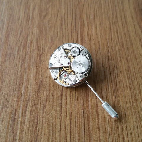 Watch Movement Lapel/Hat Pin