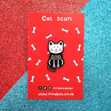 Cat Scan pin