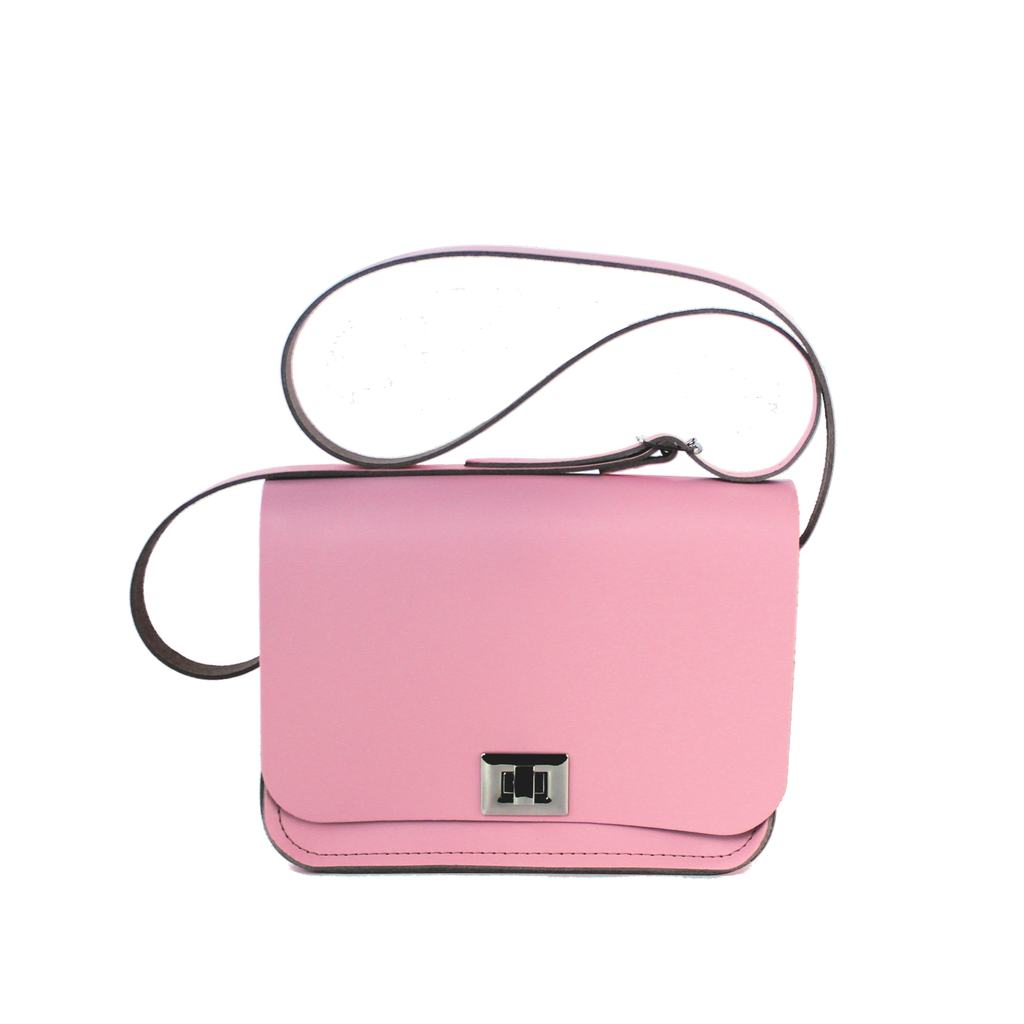 Pixie Bag (Medium-Sized Crossbody Bag) made from Candy Floss Leather