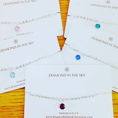Diamonds in the Sky | Swarovski Birthstone Bracelet