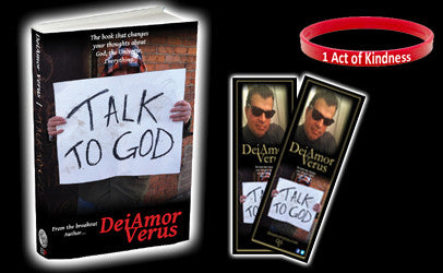 "Talk to God - Personalized & ""1 Act of Kindness"" wristbands"