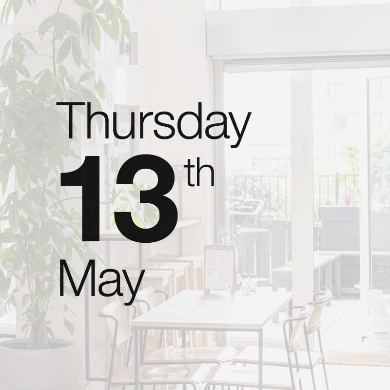 Thursday 13th May