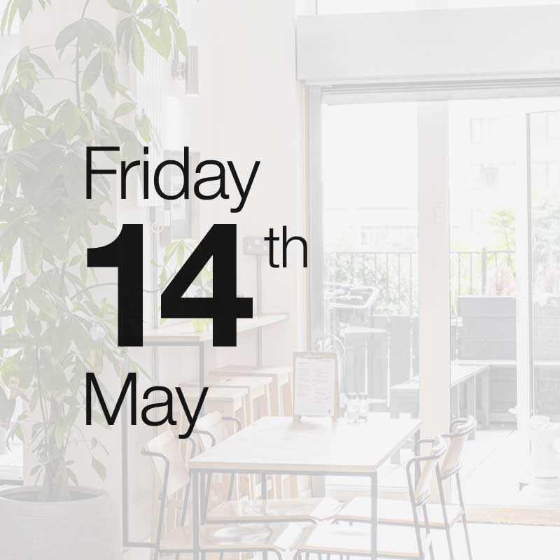 Friday 14th May