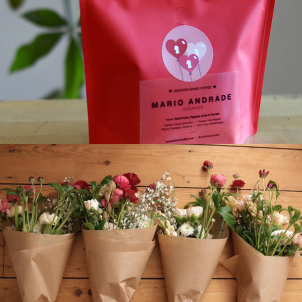 Coffee & Flower Posy Bundle