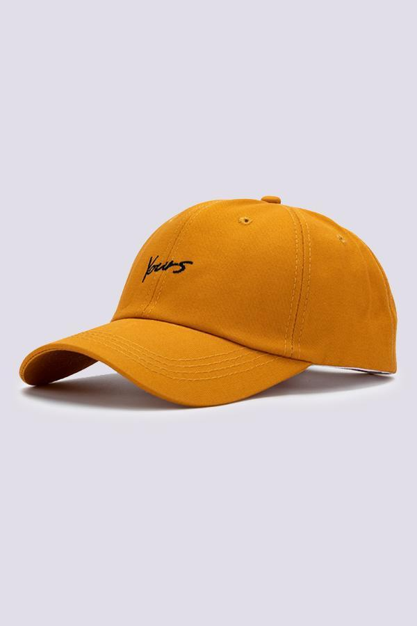 SIGNATURE BASEBALL CAP - Orange