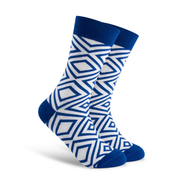 Multiple Diamonds Men's Sock