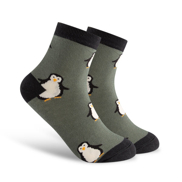 Happy Little Penguin Women's Sock