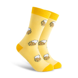 Don't Worry Beer Happy Men's Sock