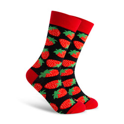 Red-Berries Men's Sock