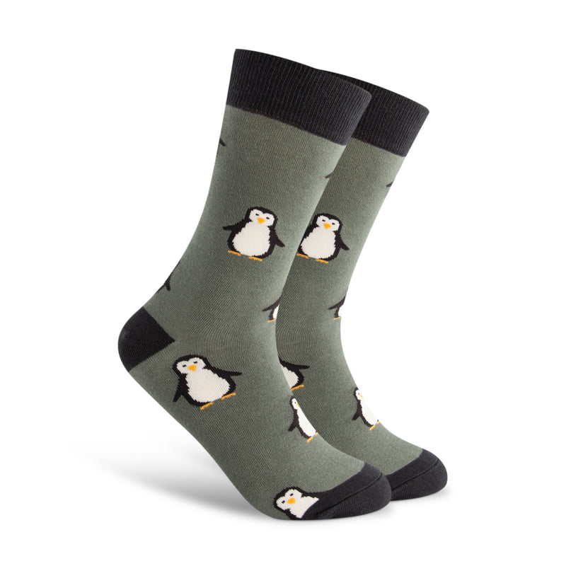 Happy Little Penguin Men's Sock