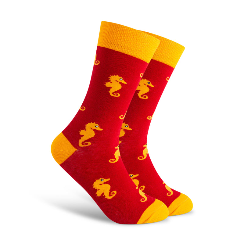 Sea Horse Love Men's Sock