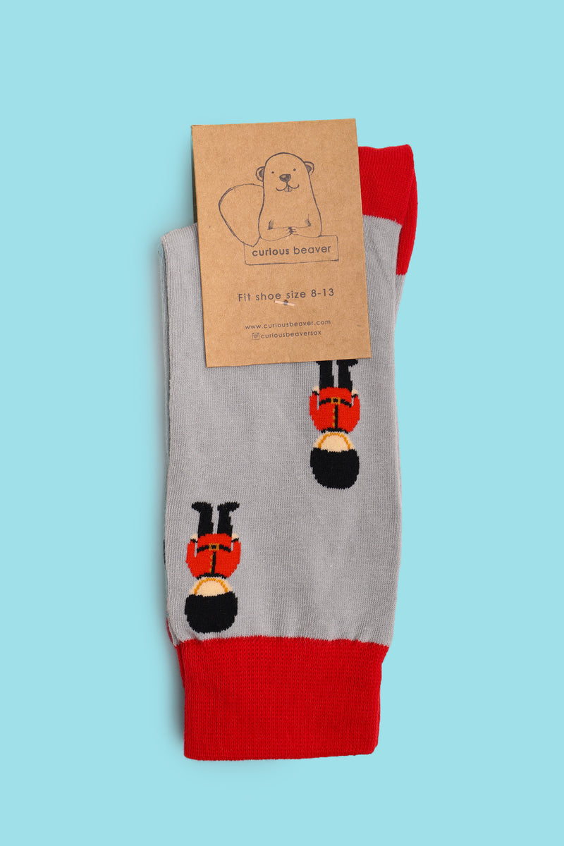 Queen's Guards Men's Sock
