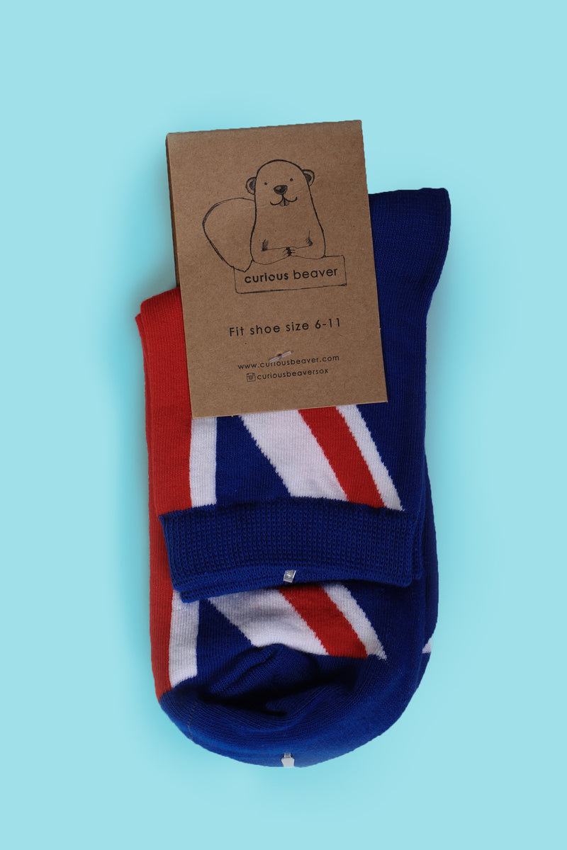 Union Jack Women's Sock