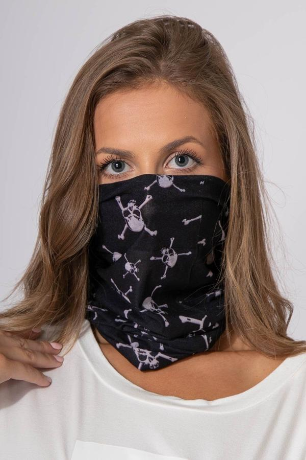 Reusable Skull Face Cover Scarf