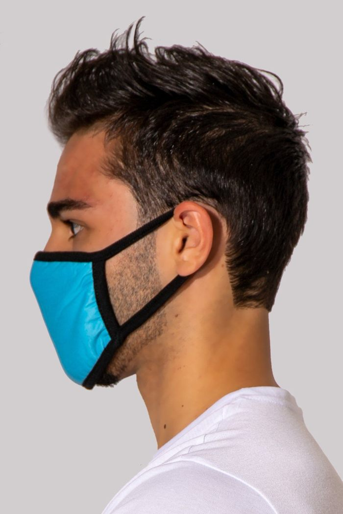 Reusable Blue Face Cover