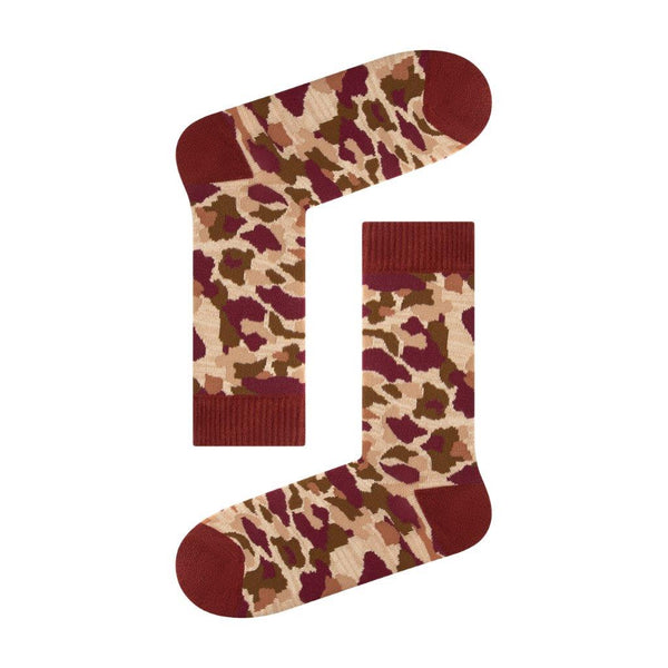 Red Camo Men's Sock