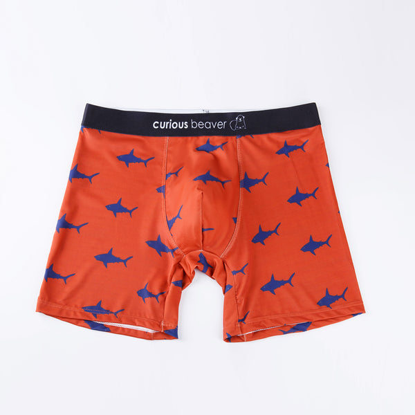 Sharp Shark - Men's Boxer Briefs