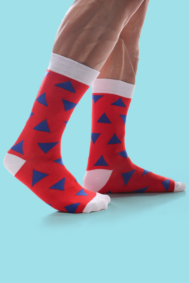Try-angles Men's Sock