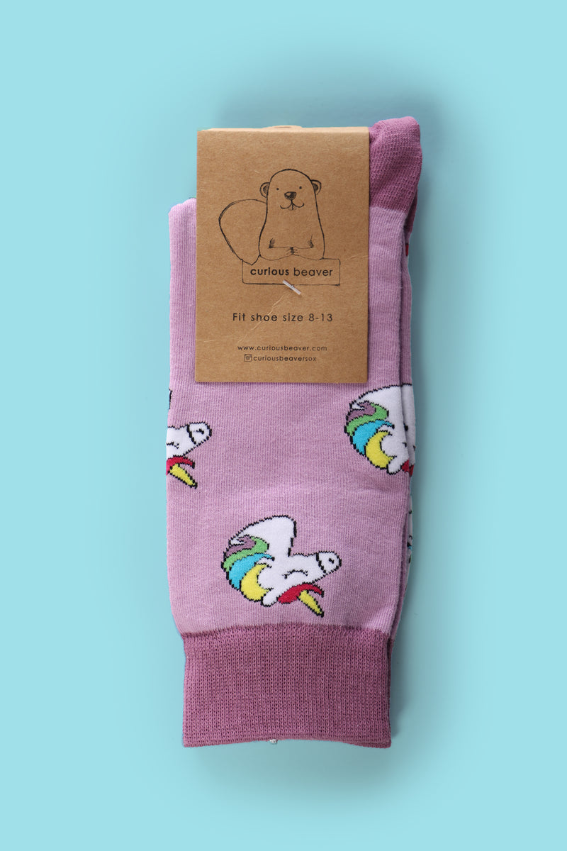Mystical Unicorn Men's Sock