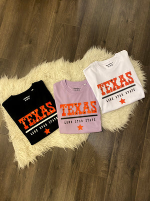 t-shirts wit met tekst texas lone star state ster musthave it all the label