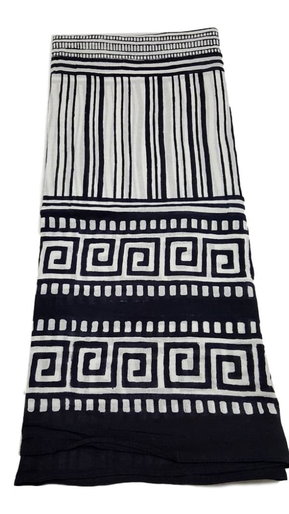 Passion Lilie print cotton scarf