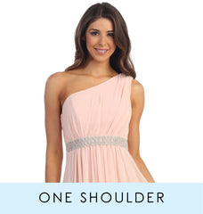 View One shoulder bridesmaid dresses collection