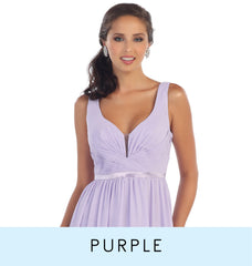 View purple bridesmaid dresses which consist of lilac dresses, light purple or lavender dresses, dark purple or eggplant dresses, and plum dresses