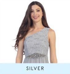 View silver bridesmaid dresses which consist of charcoal gray dresses, grey dresses, and silver dresses