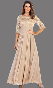 Long Sleeve Dress with Flowy Skirt