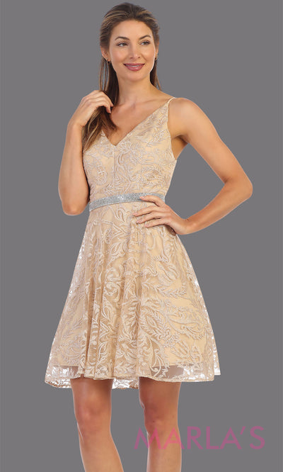 Viona Short Lace Dress