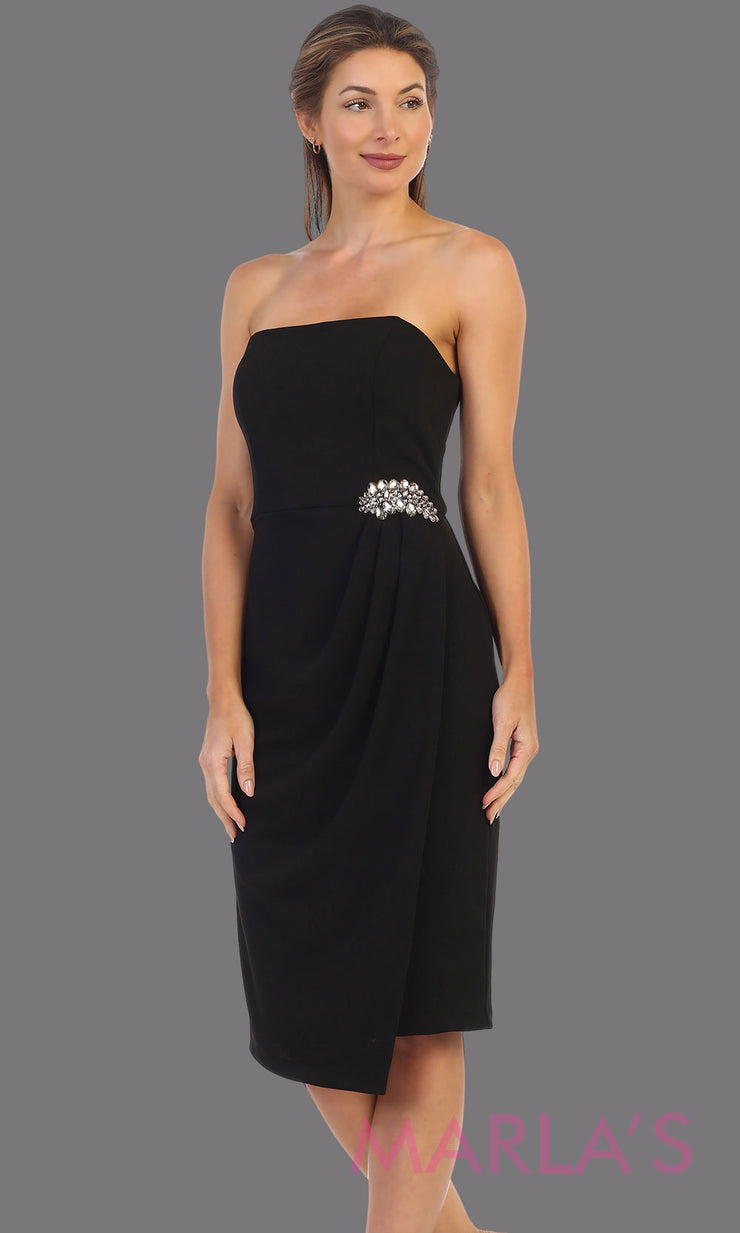 Marcy Short Strapless Dress