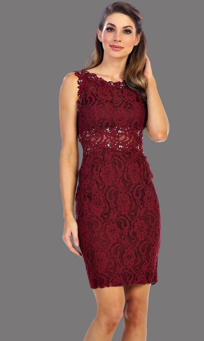 Juno - 1077 Lace Party Dress
