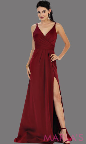 Sexy sleek prom dresses
