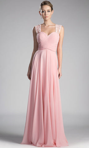 long blush pink strappy flowy dress. Perfect light pink gown for bridesmaids, simple prom dress, simple blush a-line wedding guest dress, gala, flowy pink dress, wide strap lace  full length dress. plus size avail.